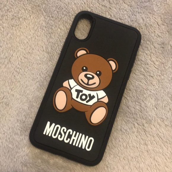 finest selection 5dc6c d3a0a SOLD!!!!! Iphone X Moschino bear case NWT